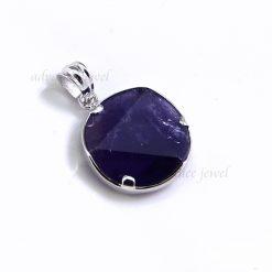 紫水晶大衛星墜子