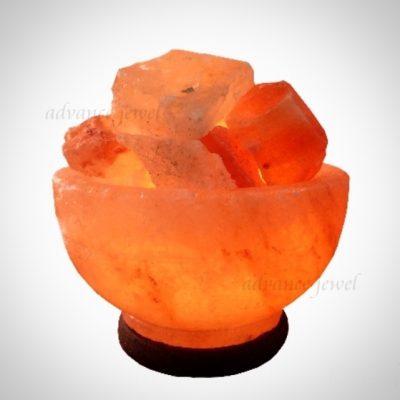 鹽燈聚寶盆造型