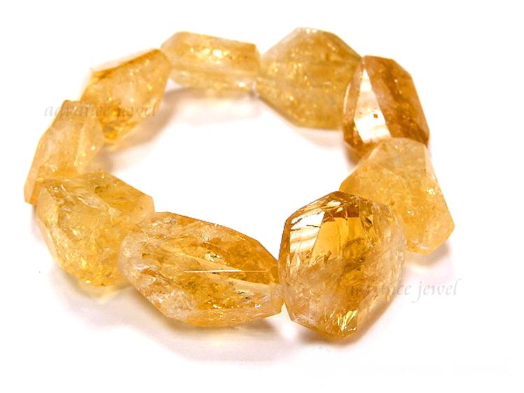 黃水晶手珠