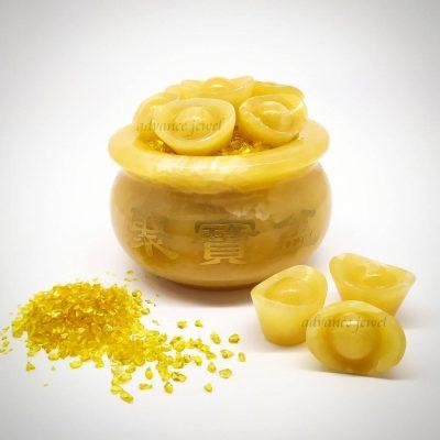 黃玉聚寶盆