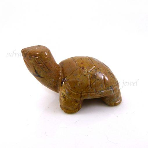 動物雕刻-烏龜-圖畫石