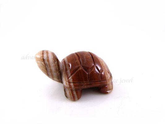 動物雕刻-烏龜-大陸紅石