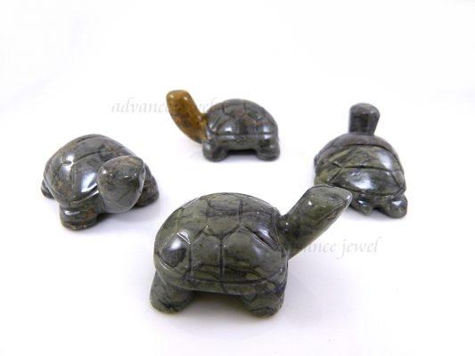 動物雕刻-烏龜-灰石