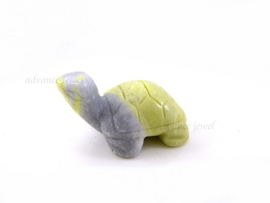動物雕刻-烏龜-芥辣石