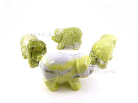 動物雕刻-豬-芥辣石