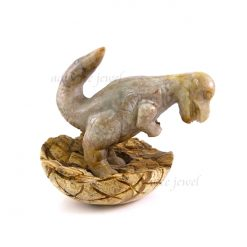 恐龍雕刻擺件