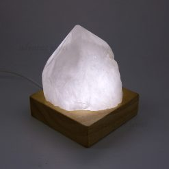 白水晶柱燈
